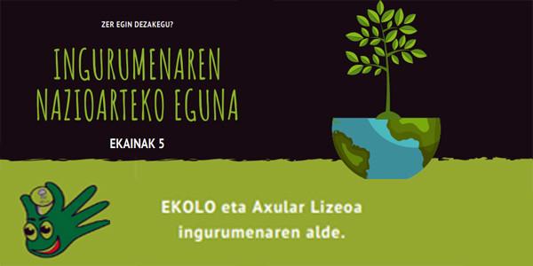 Día Internacional del Medioambiente